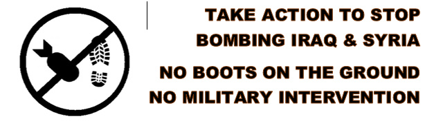 No Bombs No Boots Event